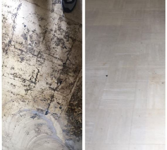 Before & After Floor Cleaning in Woodbridge, CT (1)